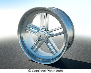 합금, 자동차 설계, 평원반, 바퀴, 또는