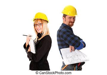 해석, 건축가, 노동자