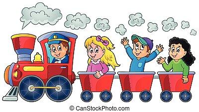 행복하다, 기차, 키드 구두