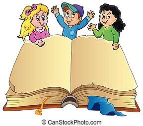 행복하다, 책, 열려라, 키드 구두