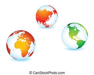 행성, 세계, 세계, 지구