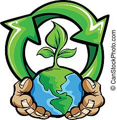 행성, 손, 보유, 지구