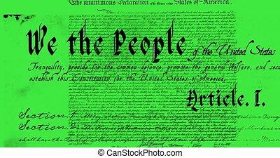 헌법, 써진다, 4k, 미국