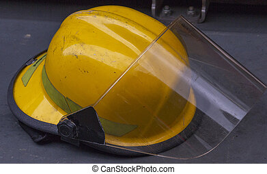 헬멧, 소방수