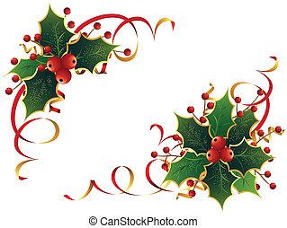 호랑가시나무, 크리스마스