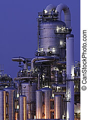 화학 생산, 시설