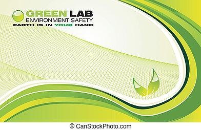 환경, 녹색의 배경