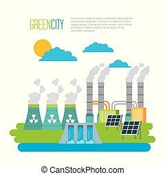 환경, 도시, 에너지, 생태학, 녹색