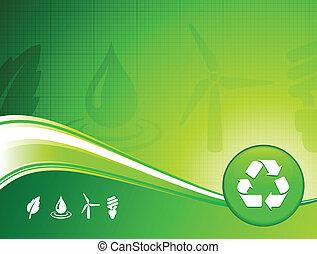 환경, 배경, 녹색