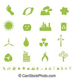 환경, 상징, 생태학, 녹색
