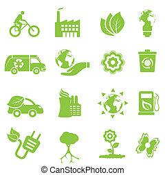 환경, 생태학, 아이콘