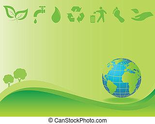 환경, 지구, 날씬한