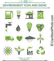 환경, eco, 관계가 있다, 상징
