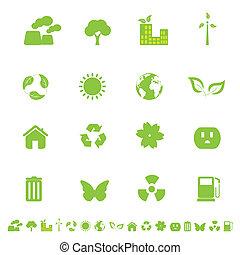 환경, eco, 상징