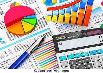 회계, 개념, 재정, 사업