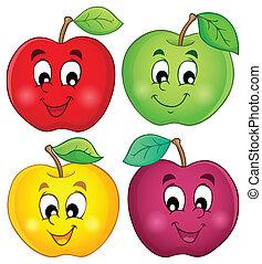 3, 여러 가지이다, 사과, 수집