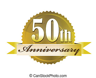 50th, 도장, 기념일