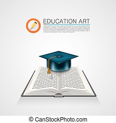 cap., 책, 예술, 표시