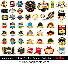 collection., 상징, 극단, 현대, 포도 수확