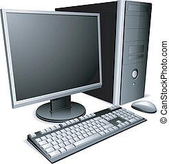 computer., 탁상용 컴퓨터