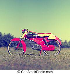 concept., retro, 오토바이