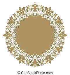 designer., 장식, 연장 모음, 요소, 전통적인, victorian, 벡터, 화려한, 꽃의 8, 바로크, eps, style., decor., design.