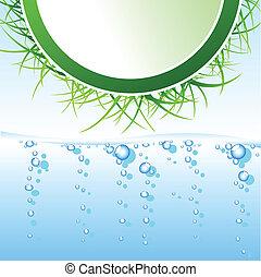 eco, 요약 디자인, 삽화