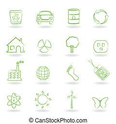 eco, 환경, 물건