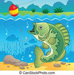 fish, 바다에서는 서투른, 주제, 심상, 4