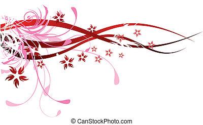 flourishes, 빨강