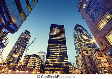 london., 도시, 마천루