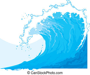 (ocean, wave), 바다, 파도
