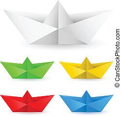 origami, 종이 보트