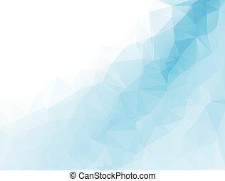 polygonal, 벡터, 배경, 형판, 모자이크, 사업, 디자인, 삽화