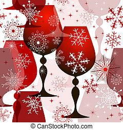 red-white, 패턴, 크리스마스, seamless