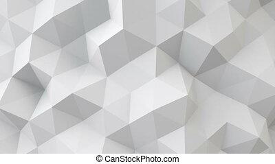seamless, 표면, polygonal, 백색, 기하학이다, 고리