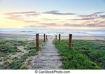 soul., 바닷가, 건강해진다, 해돋이, 좁은 길, 호주