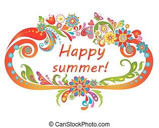 summer!, 행복하다